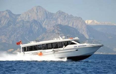 Antalya-Kemer arası deniz otobüsü seferleri başladı!