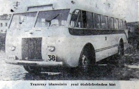 1948 yılında tramvay