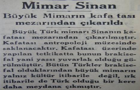 1935 yılında Mimar