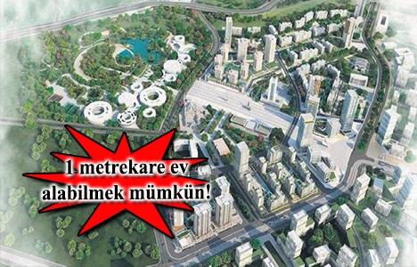 Metrekare ile ev satışı Kayaşehir'den başlıyor!