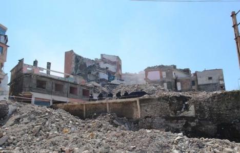 Trabzon Tabakhane'de 629 bina yıkıldı!
