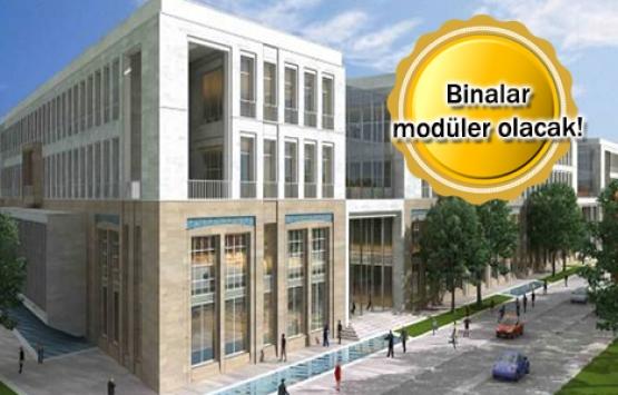 Büyüyebilir kamu binaları geliyor!