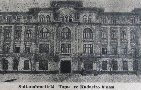 1947 yılında Adalet Sarayı için istimlake başlanmış!
