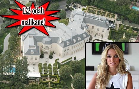 Petra Stunt'ın Los Angeles'taki malikanesi 200 milyon dolara satışta!