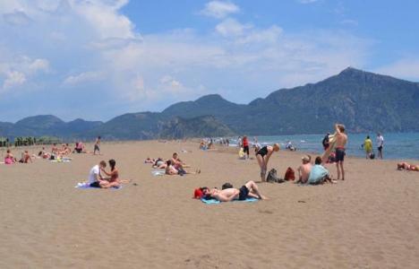 Turizmciler İztuzu Plajı'nın