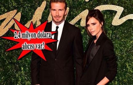 David Beckham ve Victoria Beckham çifti şatosunu satıyor!