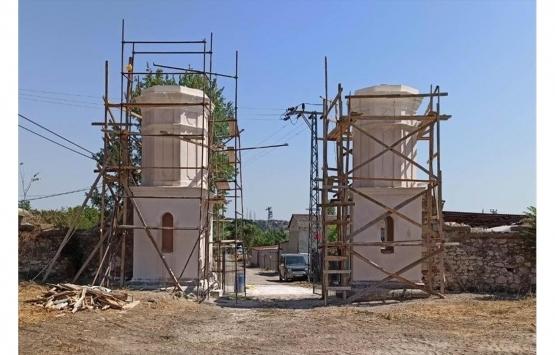 Hükümlü ve tutuklular Edirne'deki tarihi yapıları restore ediyor!