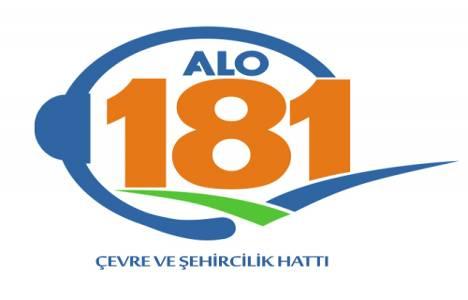 Alo 181, kentsel dönüşümü hızlandırdı!