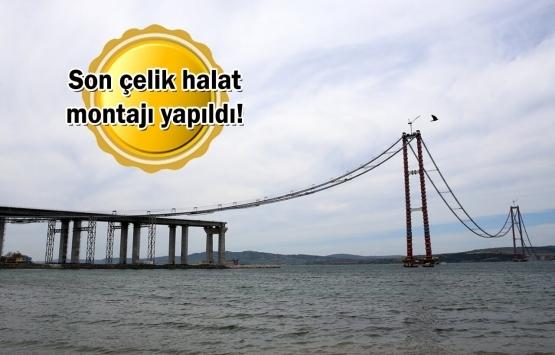 1915 Çanakkale Köprüsü inşaatında sona doğru!