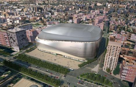 Santiago Bernabeu Stadı'nı