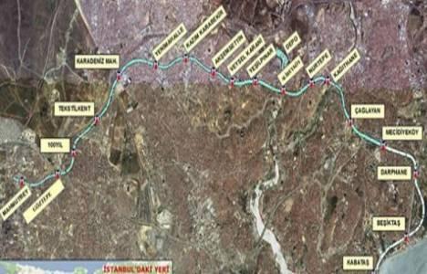 Mecidiyeköy-Mahmutbey Metro Hattı'nın temeli atılıyor!
