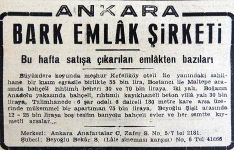 1945 yılında Kefeliköy