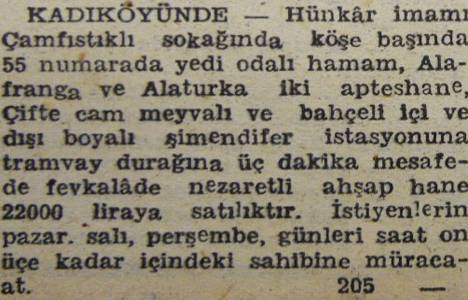1946 yılında Kadıköy'de