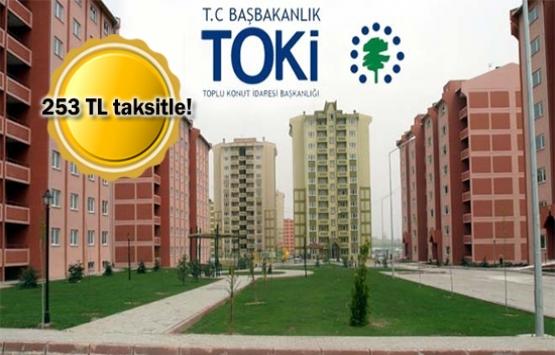 TOKİ'den 6 bin 227 TL peşinatla ev sahibi olma fırsatı!
