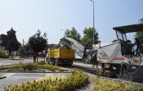Düzce Kuyumcuzade Bulvarı'na asfalt müjdesi!