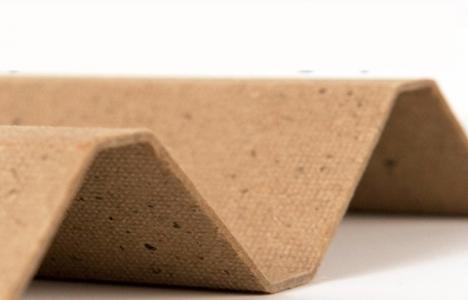 Ahşap, plastik ve alçıpana çevreci alternatif geliyor!