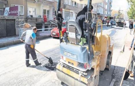Niğde'de asfalt yenileme