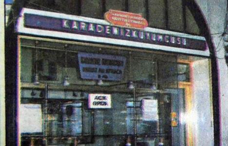 1985 yılında Kapalıçarşı'da