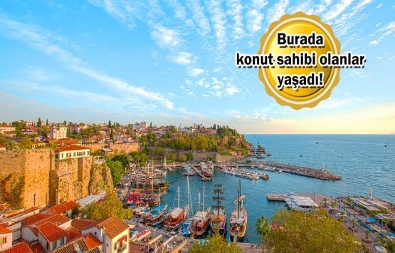 Türkiye'nin en çok konut satılan bölgesi oldu!
