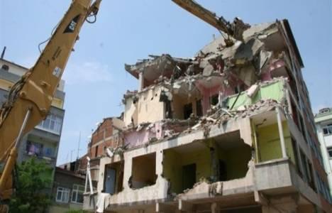 Kentsel dönüşüm kapsamında 2 yılda 40 bin bina yıkıldı!