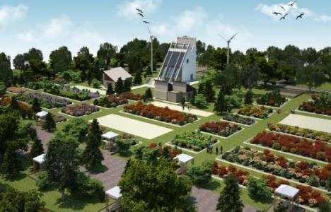 Van'da 12 dönüm arazide ekolojik köy kurulacak!