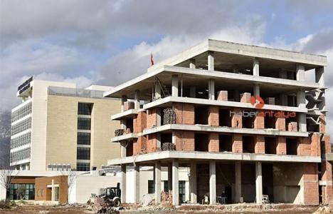 Antalya OSB otel ve sosyal tesisi mayıs ayında hizmete açılacak!