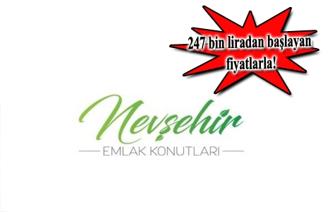 Nevşehir Emlak Konutları satışa çıktı!