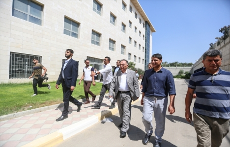 Türk heyeti Gazze'deki