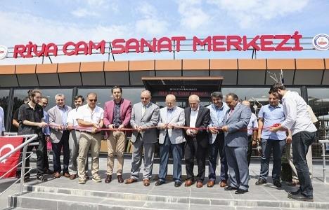 Riva Cam Sanat Merkezi hizmete açıldı!