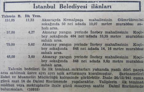 1941 yılında Aksaray'da