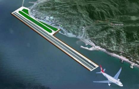 Ordu-Giresun havalimanındaki terminal binaları yükseliyor!