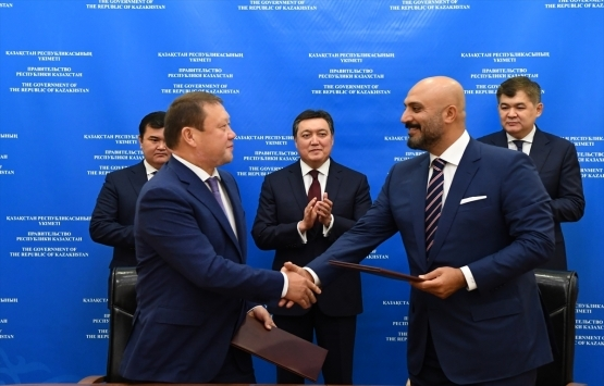 YDA Holding'ten Kazakistan'a