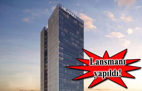 Nidakule Ataşehir görücüye çıktı! Metrekaresi 5 bin 500 TL+KDV!