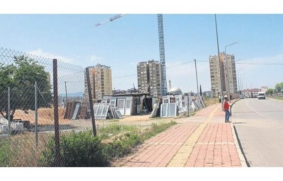 Kepez Toptancı Hali Sosyal Konut Projesi'nin inşaatında son durum!