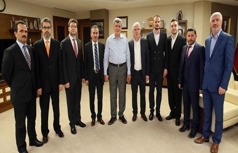 Yapı Müteahhitleri Karaosmanoğlu'nu ziyaret etti!