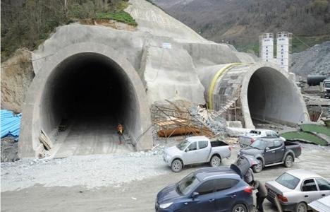 Cankurtaran Tünelinin inşaat