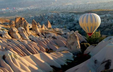 Kapadokya Havalimanı'nda bayram