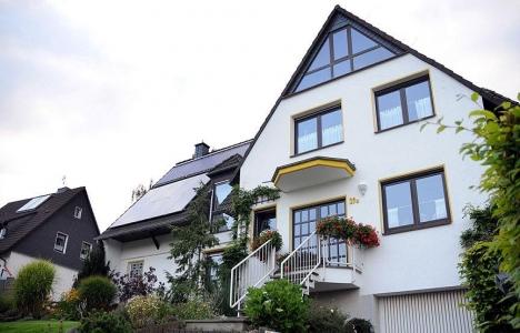Almanya'da alınan inşaat