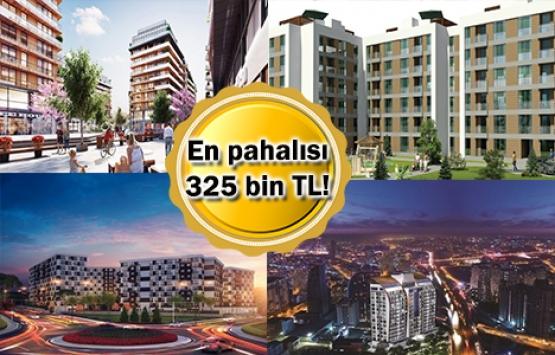 İstanbul'daki en ucuz 5 konut projesi!