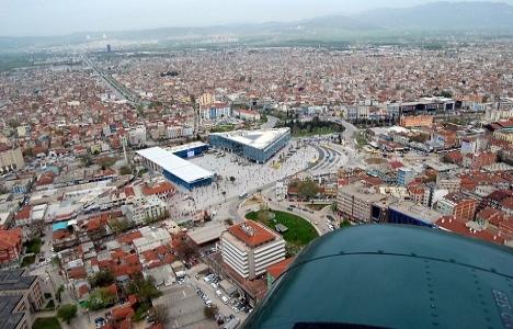 Osmangazi Kent Meydanı'nın