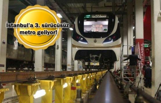 Yenikapı-Havaalanı-Kirazlı metrosu sürücüsüz olacak!