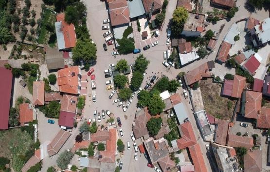 Manisa Yenişehir'de yıkılacak binalar kontrol ediliyor!