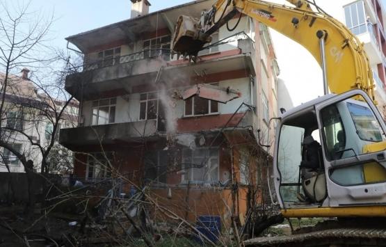 Eyüpsultan'da riskli yapılar ortadan kaldırılıyor!