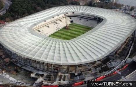 Vodafone Arena'nın çatısı hafta sonu bitecek!