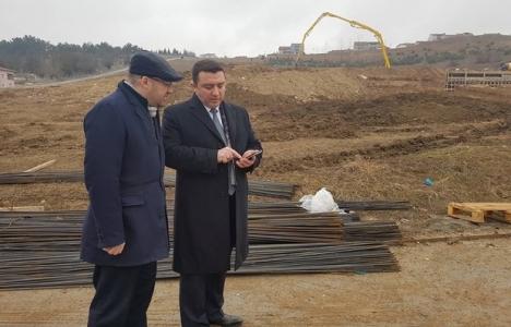 Bozüyük Yenidoğan'da dev park inşaatı başladı!
