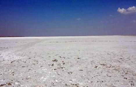 Kırşehir'deki Seyfe Gölü