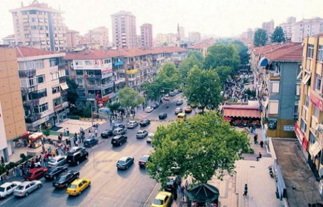 Bağdat Caddesi'nde kentsel