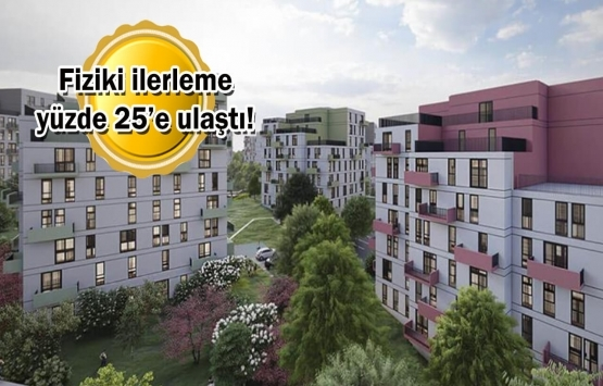 KİPTAŞ Silivri 4. Etap Konutları'nın inşaatında son durum!