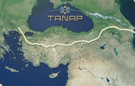 TANAP'ta inşaat için imzalar atıldı!