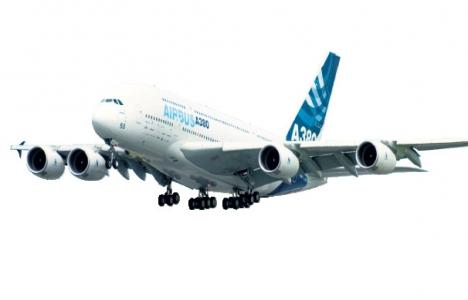 Airbus İstanbul'a iniş